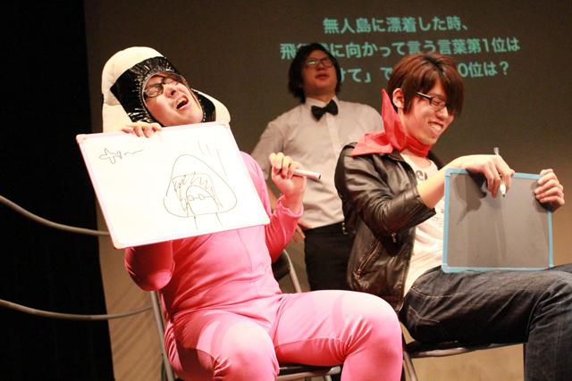 初期の頃のヤギと三上のタッグ(2014年10月25日/演劇専用小劇場BLOCH)
